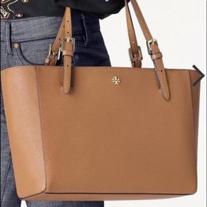 ❤️NWT Tory Burch Emerson Large Buckle Tote